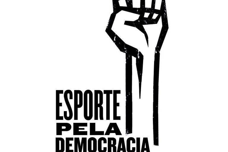 Símbolo do movimento Esporte pela Democracia