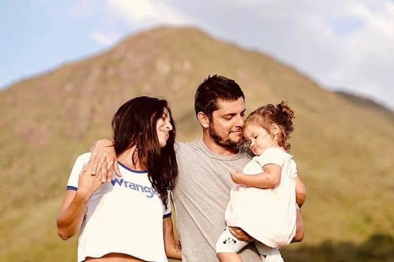 Bruno Gissoni e Yanna Lavigne esperam segundo filho