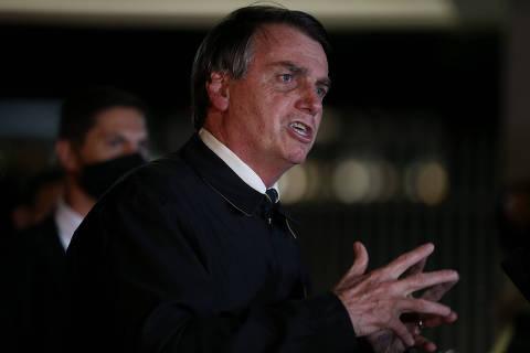 Bolsonaro chama de marginais e terroristas integrantes dos chamados grupos antifascistas