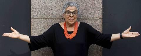 Guida Vianna e Viviane Araujo na novela O Sétimo Guardião