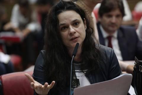 ***FOTO EMBARGADA PARA EDITORAS DE LIVROS DID�TICOS*** SÃO PAULO,SP, 21.05.2019: A deputada estadual Janaina Paschoal (PSL-SP), na Assembleia Legislativa de São Paulo (Alesp). (Foto: Renato S. Cerqueira/Futura Press/Folhapress)