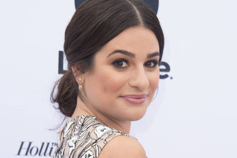 Actress Lea Michele attends the Hollywood Reporter's 25th Annual Women In Entertainment Breakfast, on December 7, 2016, in Los Angeles, California. / AFP PHOTO / VALERIE MACON ORG XMIT: 01