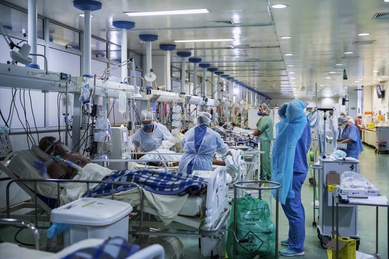 Hospital municipal de SP tem visita de despedida e pontuação para UTI