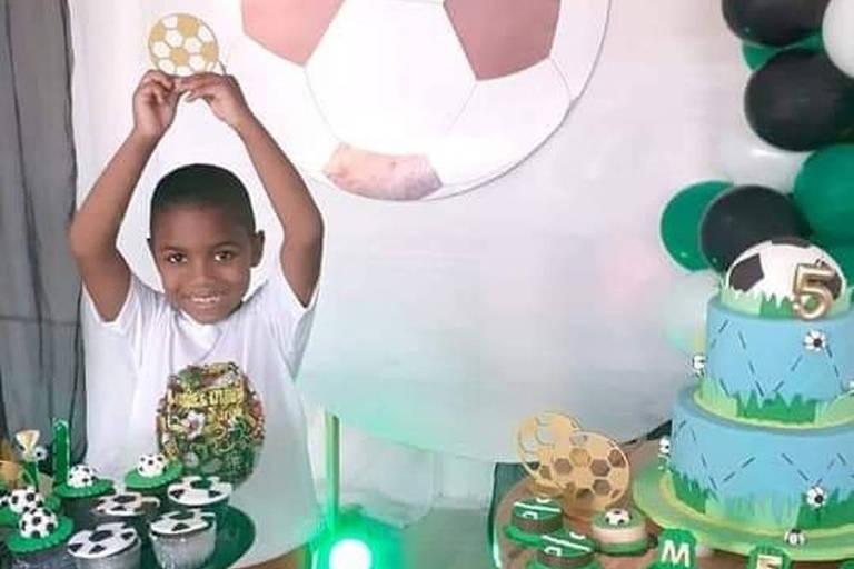 Miguel Otávio Santana da Silva, 5, que morreu após cair do 9ª andar de um prédio residencial em Recife