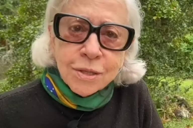 A atriz Fernanda Montenegro, 90, em quarentena na serra fluminense
