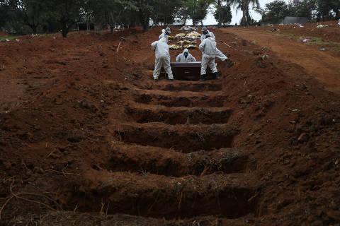 Coronavírus mata mais de uma pessoa por minuto no Brasil