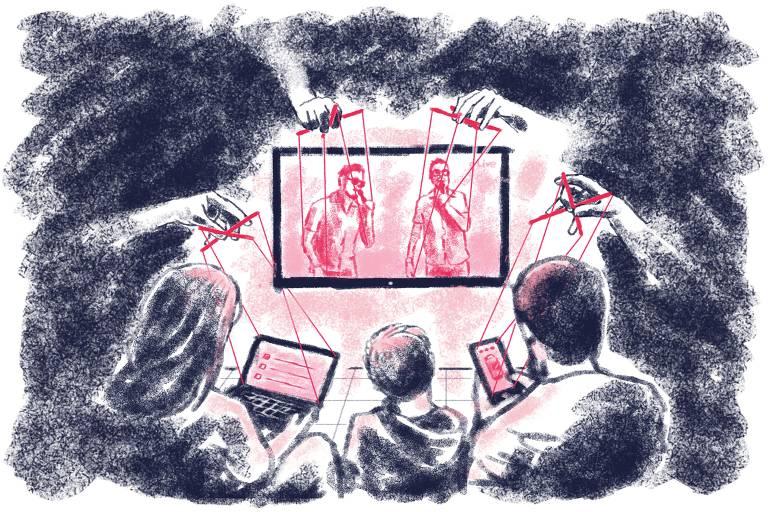 Golpes virtuais em plena pandemia