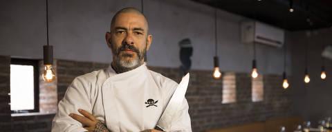 O chef e empresário Henrique Fogaça - MÔNICA BERGAMO