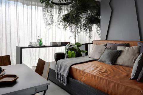 Apartamento projetado pela arquiteta Consuelo Jorge