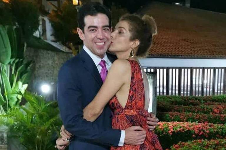 A cantora Vanessa da Mata e o ex-noivo  Bruno Dantas, Ministro do Tribunal de Contas da União (TCU)