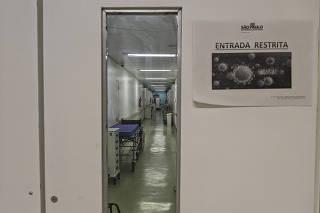 Funcionamento da emergência do Hospital Geral Vila Nova Cachoeirinha