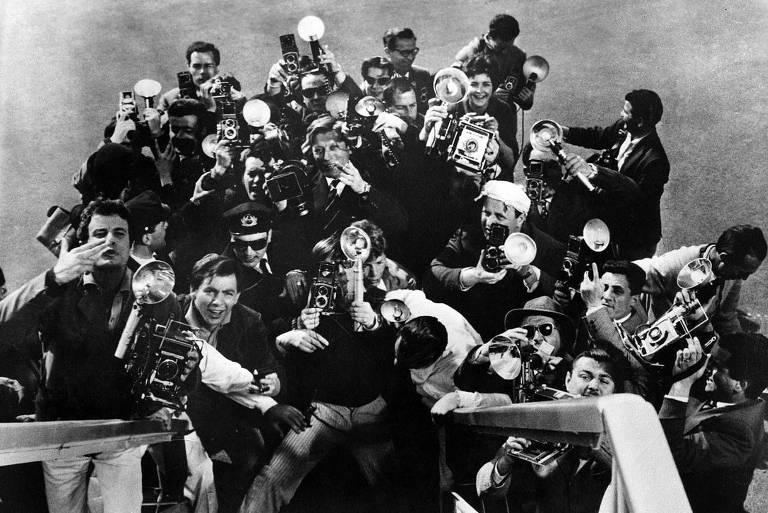 "Cena de ""A Doce Vida"", clássico de Federico Fellini"