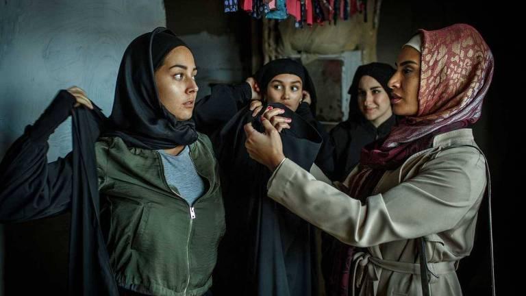 """Cena da série """"Califado"""" da Netflix"""