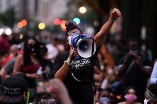 Protests over death in police custody of unarmed black man, George Floyd