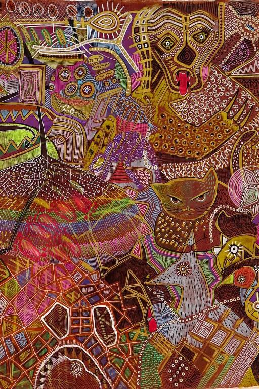 Conheça a obra do artista indígena Jaider Esbell