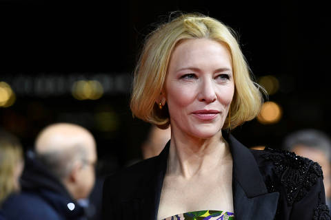 FILE PHOTO: FILE PHOTO: Actor Cate Blanchett arrives for the screening of the series