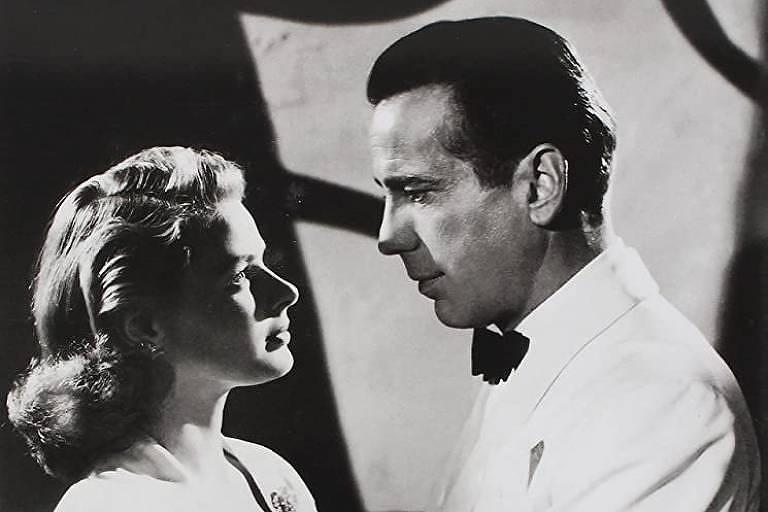 """Cena do filme """"Casablanca"""""""