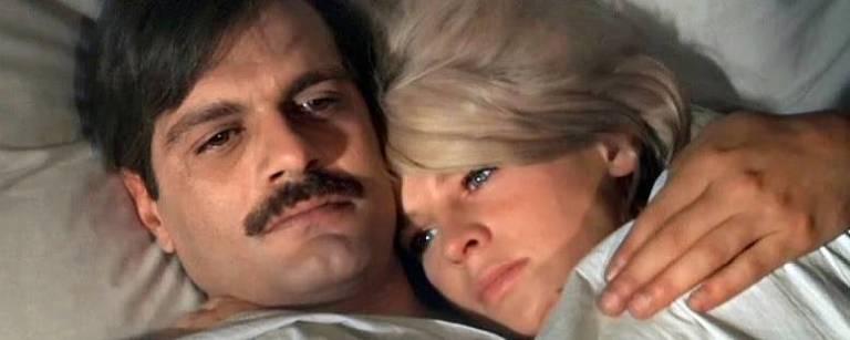 Omar Sharif e Julie Christie em cena do filme Doutor Jivago