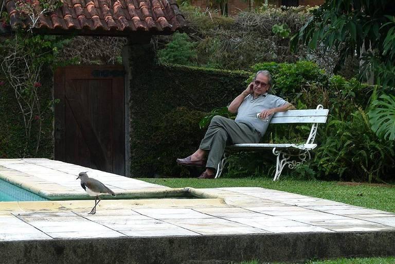 O fotógrafo Pedro Oswaldo Cruz, que morreu neste sábado (7) por complicações da Covid-19