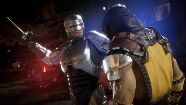 Imagens do game Mortal Kombat 11: Aftermath