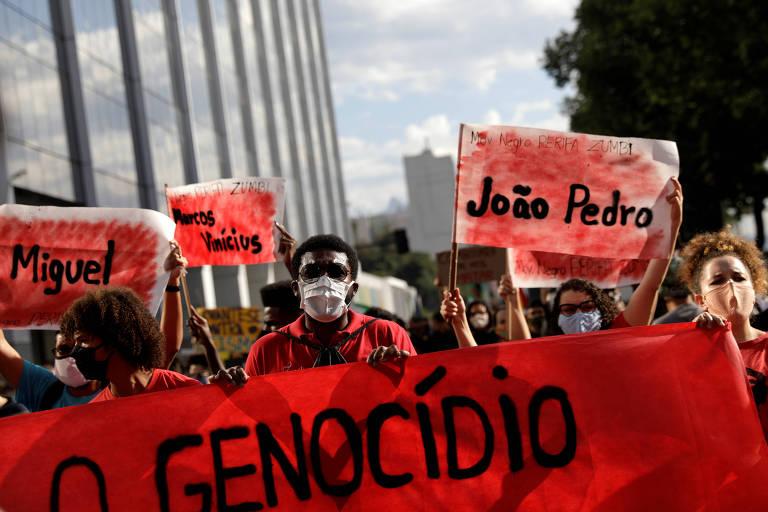 Manifestações contra o racismo em capitais brasileiras