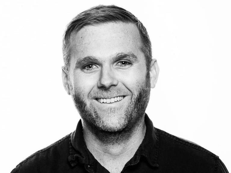 O jornalista Christopher Mathias