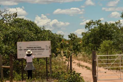 BAHIA- MINAS GERAIS- GOIÁS / BRASIL - 17/11/18 - :00h - POUSADA TRIJUNÇÃO. Entrada do Parque Nacional Grande Sertão:  Veredas, unidade de conservação criada em 1989 com o objetivo de preservar a paisagem  que influenciou a obra de Guimarães Rosa.   ( Foto: Karime Xavier / Folhapress) . ***EXCLUSIVO***TURISMO