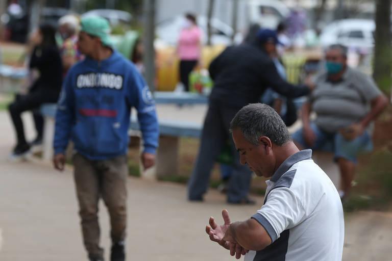 Moradores de Sapopemba descuidam da segurança durante pandemia do coronavírus