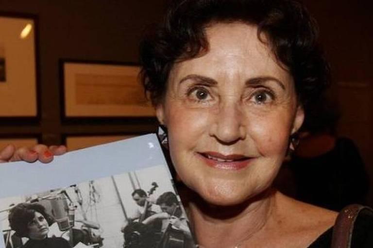 A cantora Dulce Nunes, vítima da Covid-19
