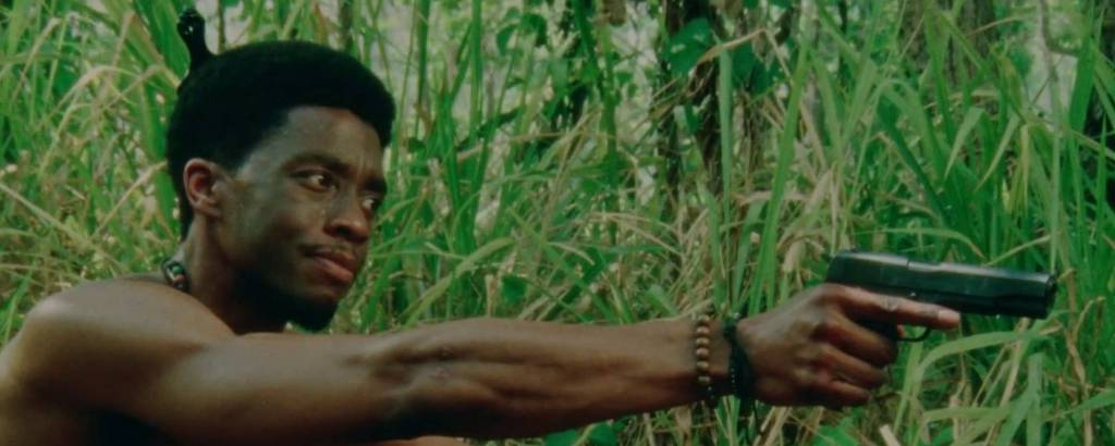Cena do filme 'Destacamento Blood', de Spike Lee