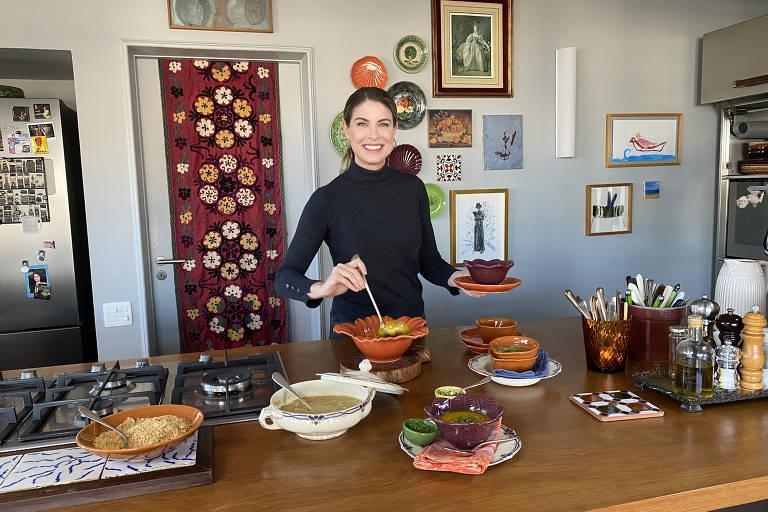 Rita Lobo no Cozinha Prática da GNT