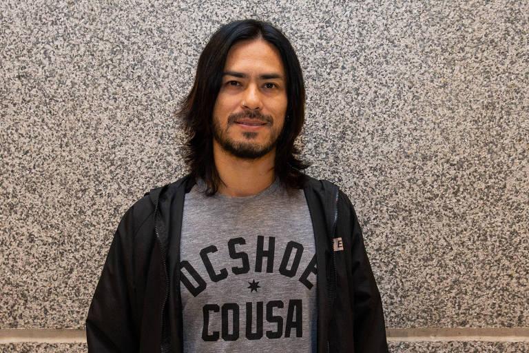 Ricardo Japinha (músico CPM22) no show Call The Police