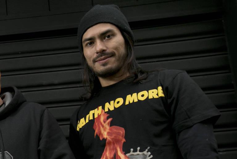 Ricardo Japinha, baterista da banda CPM 22