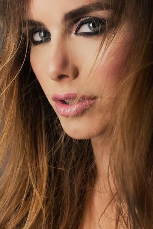 Imagens da Miss Espanha Angela Ponce