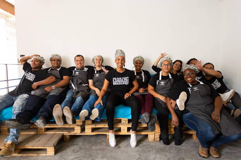 Participantes de jornada de aprendizagem do Movimento da Gastronomia Social