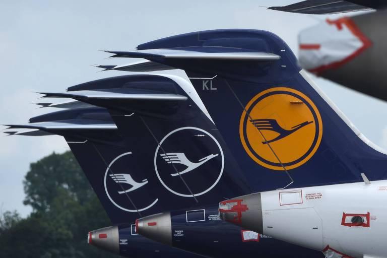 Lufthansa perde 1 milhão de euros a cada duas horas, diz presidente da companhia