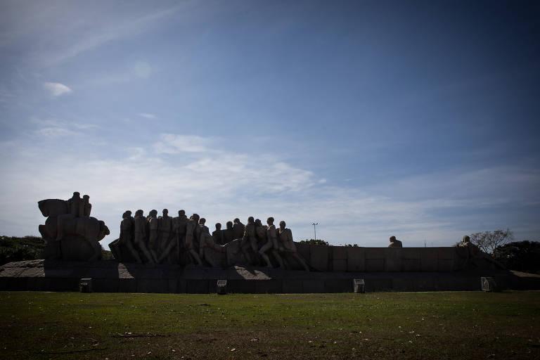 Estátuas paulistas exaltam heróis e escondem racismo