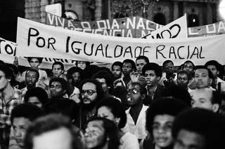 Manifestações - Movimento Negro Unificado