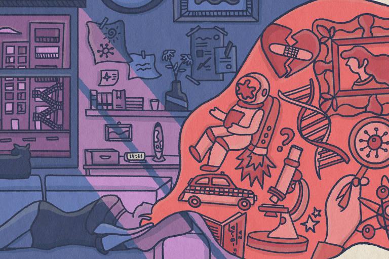 Monstros, fuga para a Lua, pazes com o ex: sonhos revelam efeito da pandemia sobre mente humana