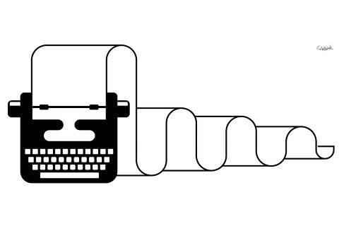 Ilustração de Carvall para coluna da Ombudsman de 14.jun.2020