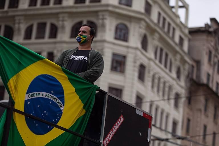 SP e Brasília têm atos em defesa de Bolsonaro neste 14 de junho
