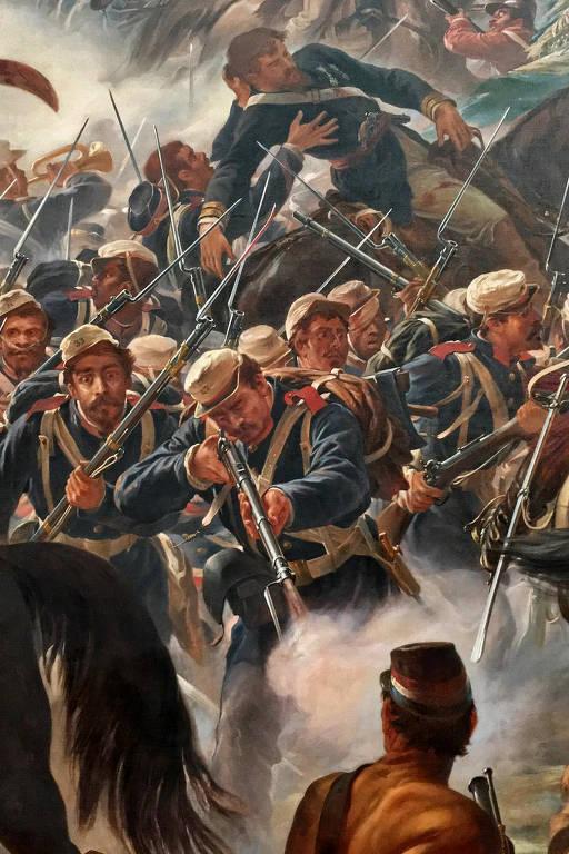 Guerra do Paraguai em fotos, pinturas e charges