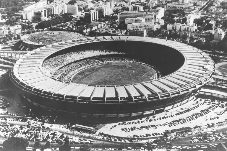 Momentos históricos do Maracanã