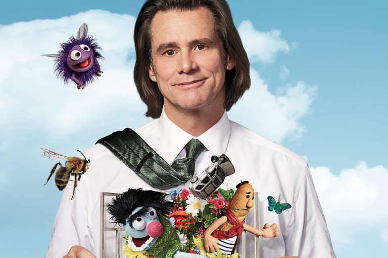 """O ator Jim Carrey em cena de """"Kidding"""""""