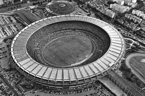 1950 - Estádio do Maracanã. (Foto: Reprodução @Fifa no Twitter)