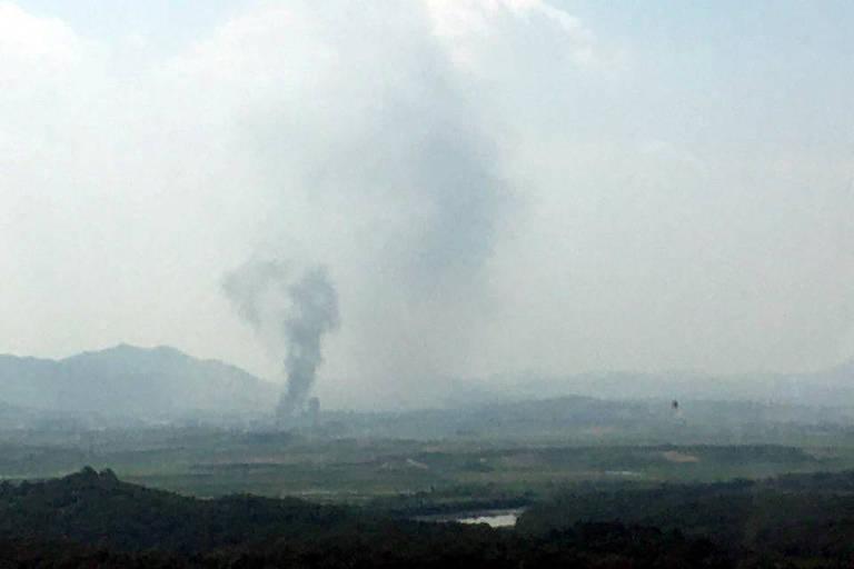 Coreia do Norte explode escritório diplomático que mantinha com Coreia do Sul
