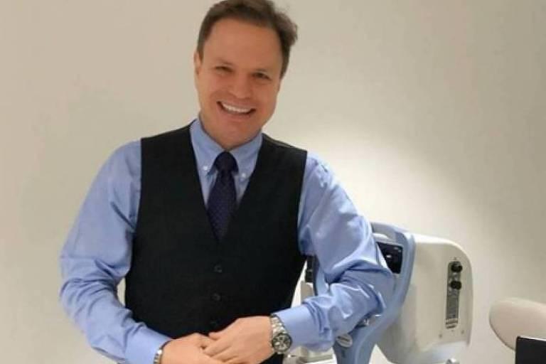 O médico Alan Frank, ex-integrante do grupo Polegar