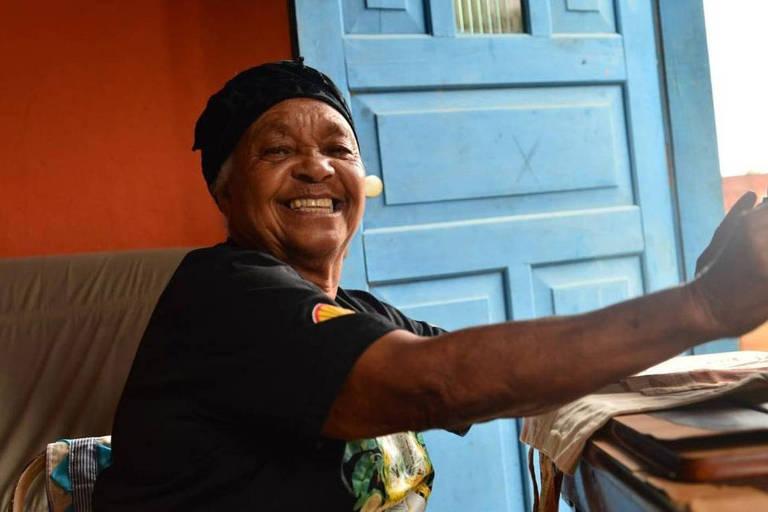 Tia Uia, 78, era liderança do Quilombo da Rasa, em Búzios
