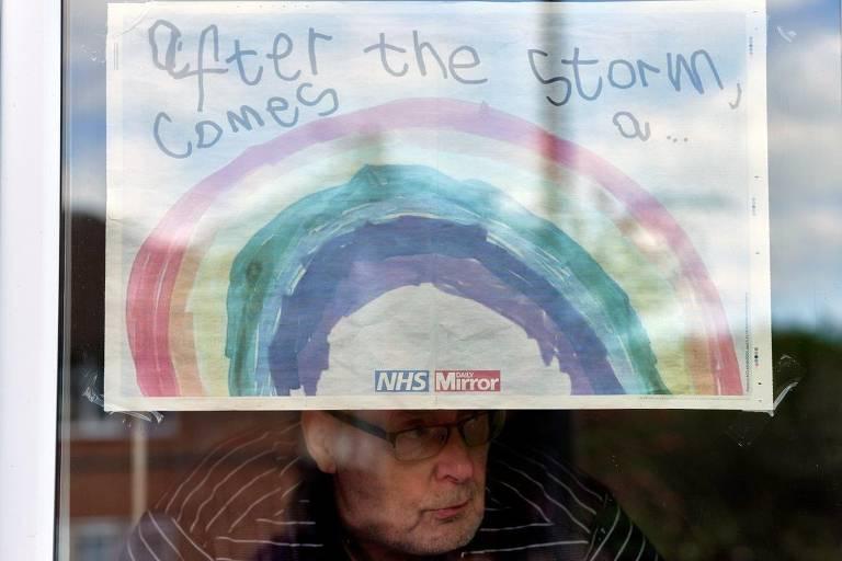 A vida na Inglaterra sob 'lockdown'