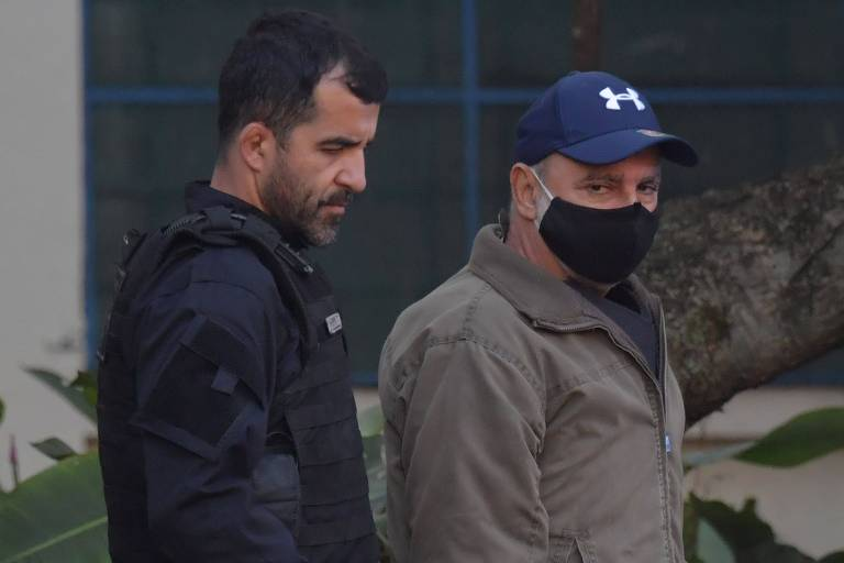 Prisão de Fabrício Queiroz em SP no dia 18 de junho